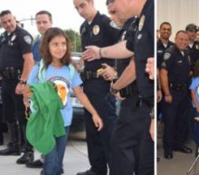 8-Year-Old Daughter of Slain Cop Gets Police Escort to School: 'She Has 50 Uncles for the Rest of Her Life'