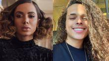 Anitta beija cantor e namorada anuncia término pelo Instagram