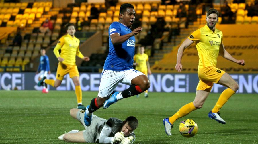 Rangers lodge appeal against Alfredo Morelos booking at Livingston