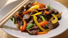 How to make Thai stir-fry beef in sesame sauce