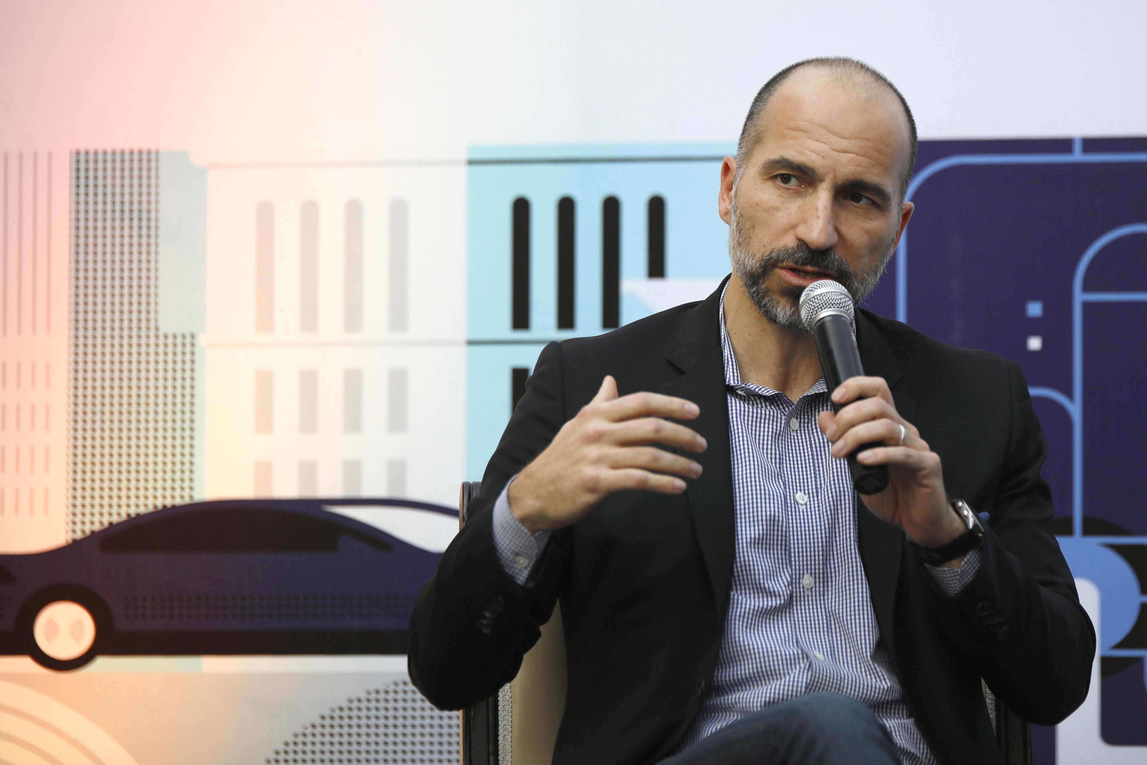 Uber Technologies Inc. CEO Dara Khowsrowshahi Event