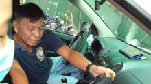 Woman gives birth in police car