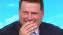 Karl Stefanovic left blushing over Jacqui Lambie's X-rated quip
