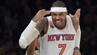 Twitter goes wild after news of Melo trade