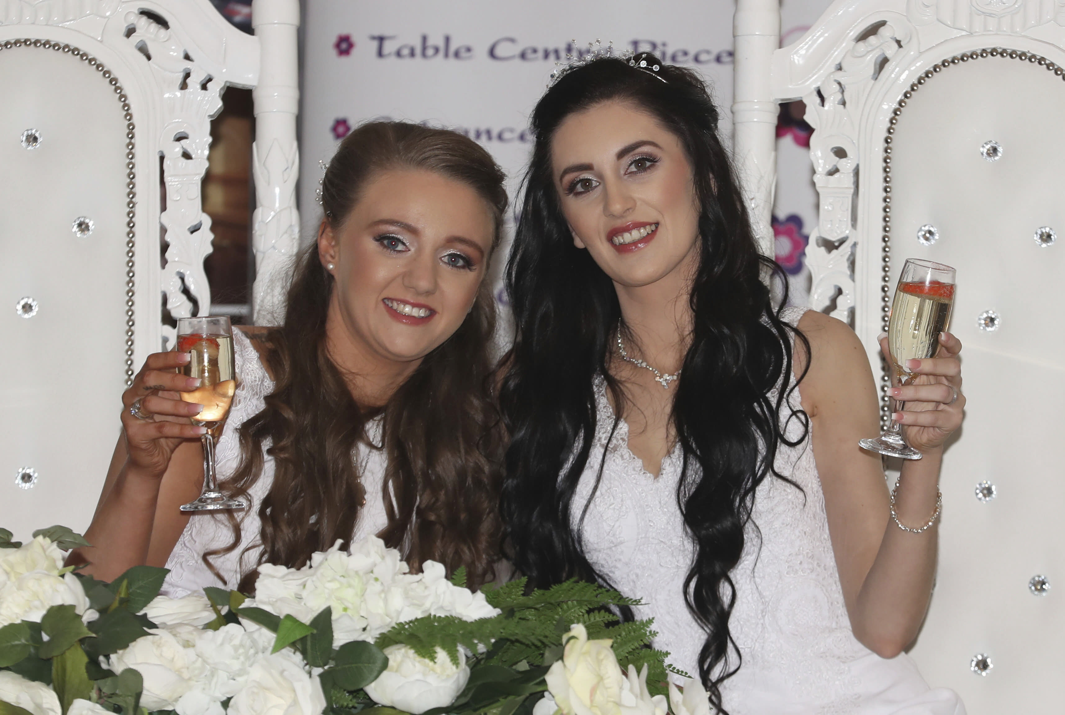 Couple Weds In Northern Ireland S First Same Sex Marriage