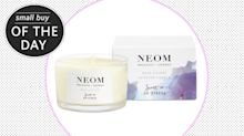 Small buy to make your day: Neom's de-stress candle