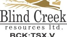 Blind Creek Resources announces metallurgical results for Blende Zinc-Lead-Silver Deposit