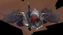 NASA's InSight lander snaps first selfie from Mars