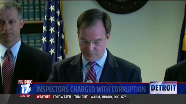 Detroit Building Inspectors Charged with Corruption
