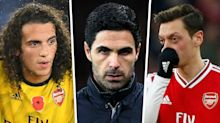'Ozil & Guendouzi getting ousted from Arsenal group' – Arteta showing leadership that Mourinho lacks, says Smith