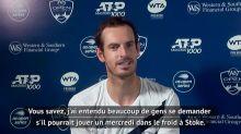 Tennis - ITW : Murray : «J'aimerais voir Messi en Premier League»