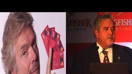 Time to learn management from Branson for Mallya.