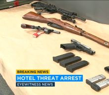 Hotel cook arrested for threats against employees, guests at Airport Marriott in Long Beach