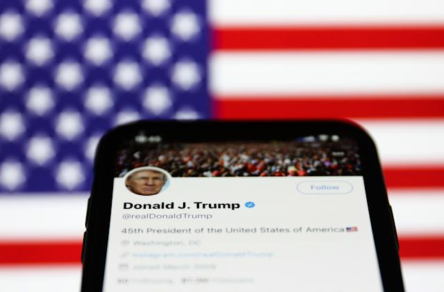 Twitter's latest Trump labels say Biden won the election