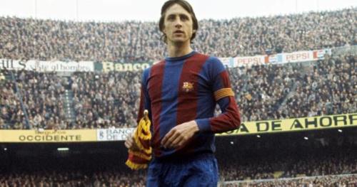 Foot - ESP - Barça - FC Barcelone : Un stade et une statue en hommage à Johan Cruyff
