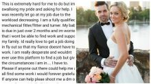 'I have a family to provide for': MAFS star's desperate plea for work