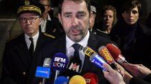 Christophe Castaner rend hommage à Franck Labois, le policier tué près de Lyon