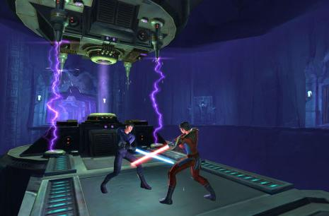 Star Wars: The Old Republic built from HeroEngine