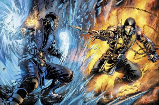 DC Comics is publishing a Mortal Kombat X komic