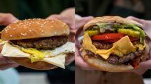 【灣仔漢堡比拼】$20土炮芝士蛋vs美國過江龍!邊個險勝?