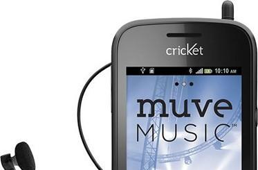 Cricket unveils ZTE Chorus, its third Muve Music smartphone