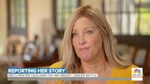 NBC News' Kristen Dahlgren Found Her Breast Cancer After Reporting on Rare Symptoms