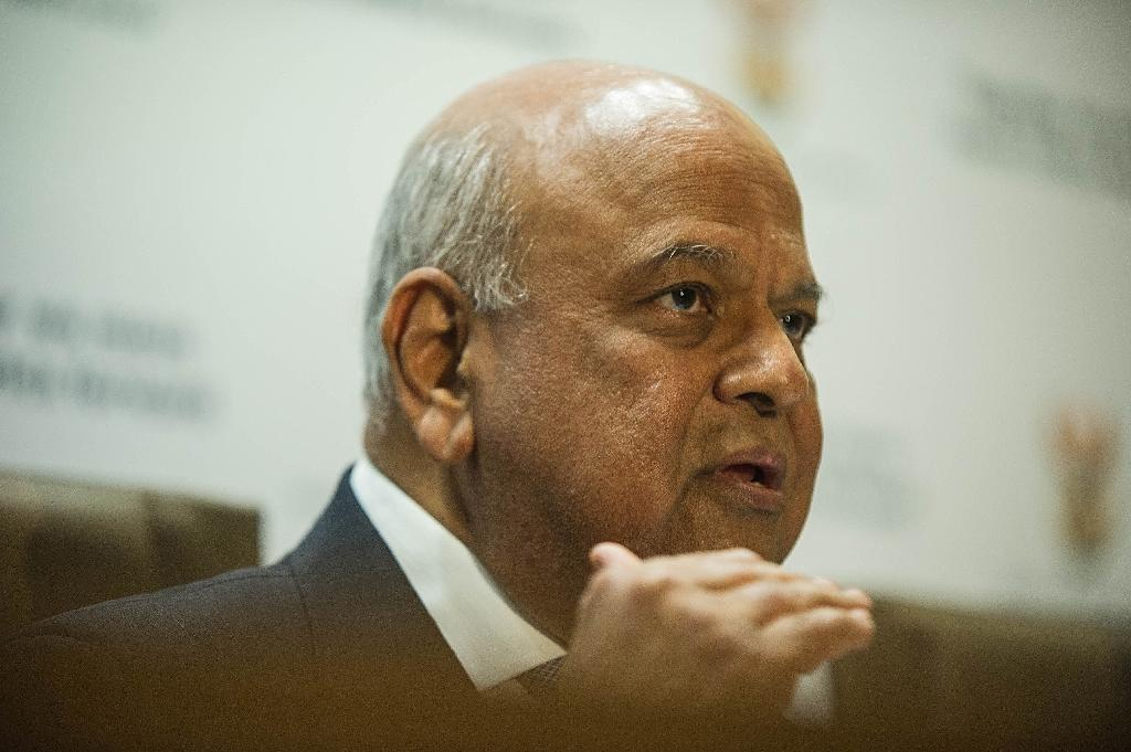 South African Finance Minister Pravin Gordhan -- a vocal campaigner against corruption -- alleges that the graft case against him is politically motivated (AFP Photo/Mujahid Safodien)