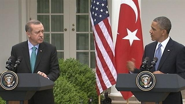 ABC Digital Report: Obama, Turkish PM Discuss Support in Syria