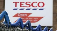 Tesco boosted by Christmas sales growth