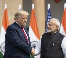 Brushing aside 'namaste' spirit, Trump lays into rivals during India visit
