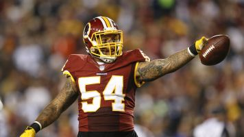 Redskins surprisingly cut leading tackler Foster