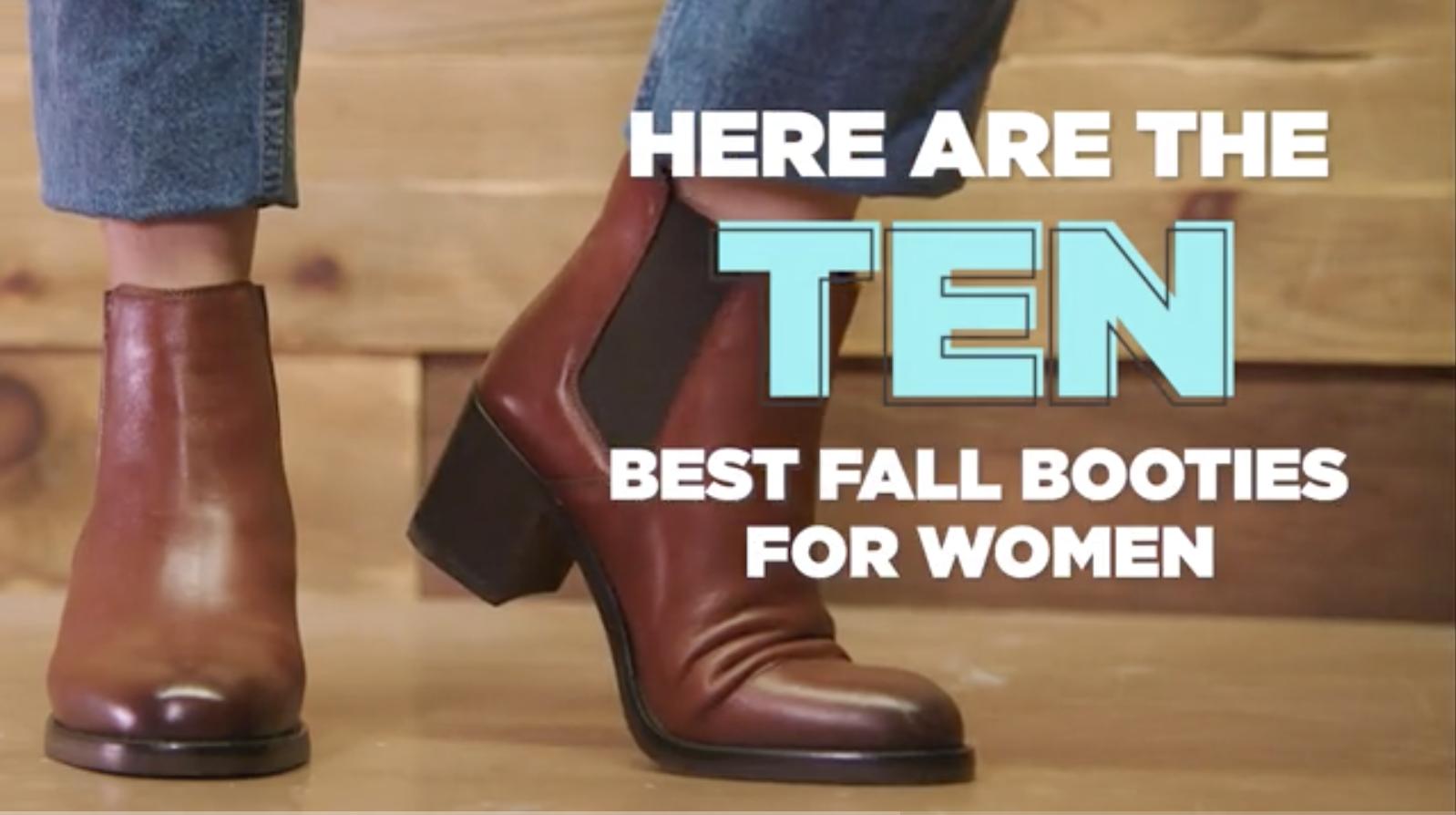 10 best fall booties for women 2019