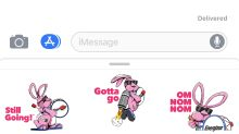 Energizer® Announces Energizer Bunny™ Stickers for iMessage
