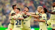 América golea y alcanza a líder en fútbol mexicano