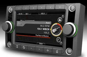Bose Media System crams GPS / media playback into your dash