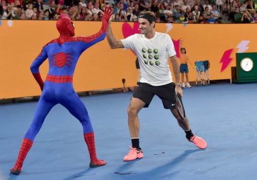 費德勒今年澳網尋求衛冕。法新社