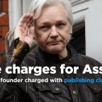 U.S. charges WikiLeaks founder Julian Assange with publishing classified info