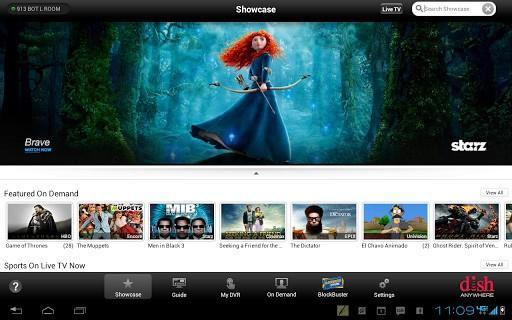 Dish Anywhere on Android gets On Demand content streaming, tablet app