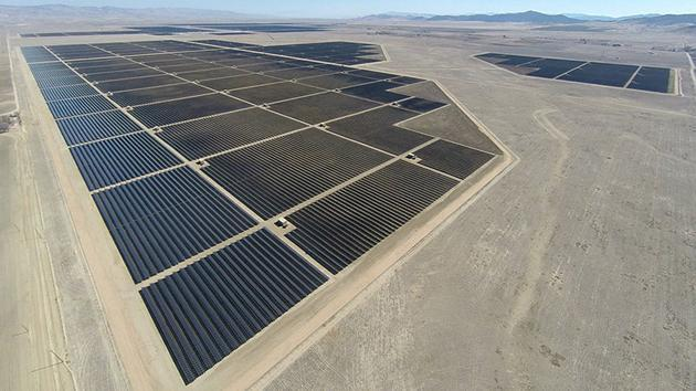 The world's largest solar power plant is now up and running