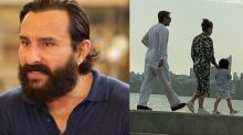 Saif Ali Khan Reacts To Getting Trolled For Strolling At Marine Drive With Taimur Without Masks