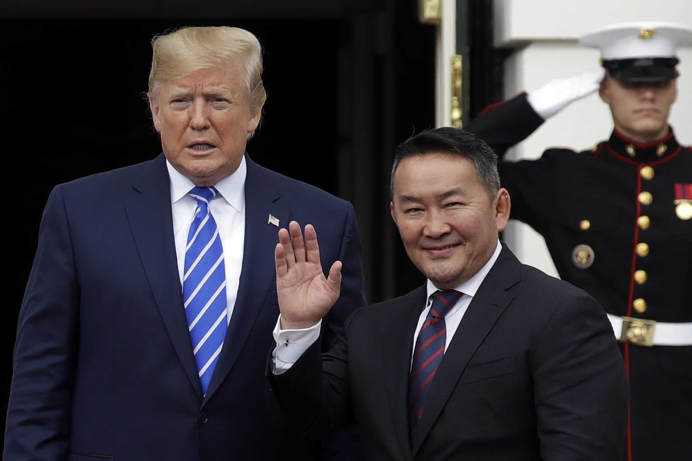 Mongolian President to talk cashmere, horse names with Trump