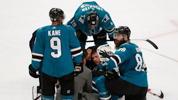Controversial penalty leads to insane finish to Golden Knights-Sharks series