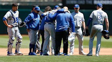 Blue Jays lose starting pitcher to torn ACL