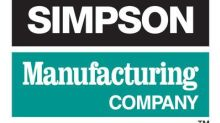 Simpson Manufacturing Co., Inc. Announces Virtual Participation At R.W. Baird's 2020 Global Industrial Conference