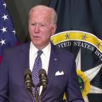 Cyber attacks could cause 'real shooting war' -Biden