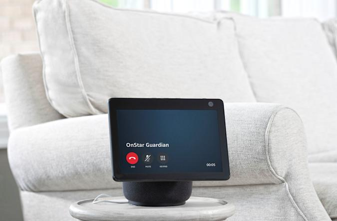 """General Motors and Amazon introduce the OnStar Guardian skill for Amazon Alexa, a new feature that will provide a voice-enabled connection to Emergency-Certified OnStar Advisors at home through compatible Alexa-enabled devices. When the OnStar Guardian skill for Amazon Alexa is enabled on compatible, in-home Alexa devices, household members can reach OnStar Emergency-Certified Advisors by saying, """"Alexa, call for help,"""" during crisis situations, such as house fires, medical emergencies, break-ins and more."""