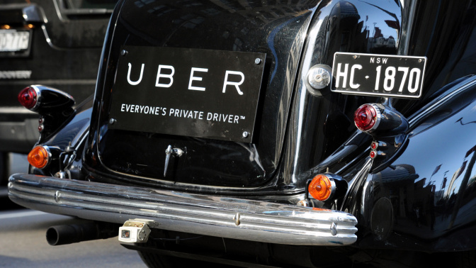 New Uber booking fees and minimum fares