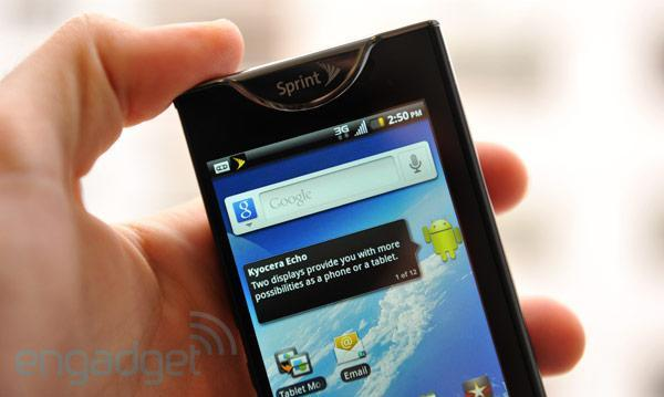 How would you change the Kyocera Echo?
