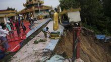 Landslides, flash floods as monsoon batters southern Myanmar