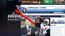 Tennessee Titans website has a funny hidden message for fans trying to get a sneak peek at the team's new uniforms